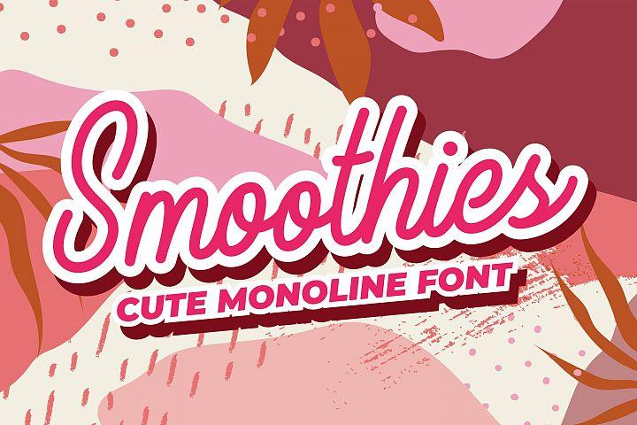 Smoothies - Cute Monoline