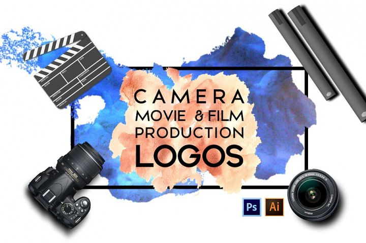 Camera, Movie & Film Production Logos