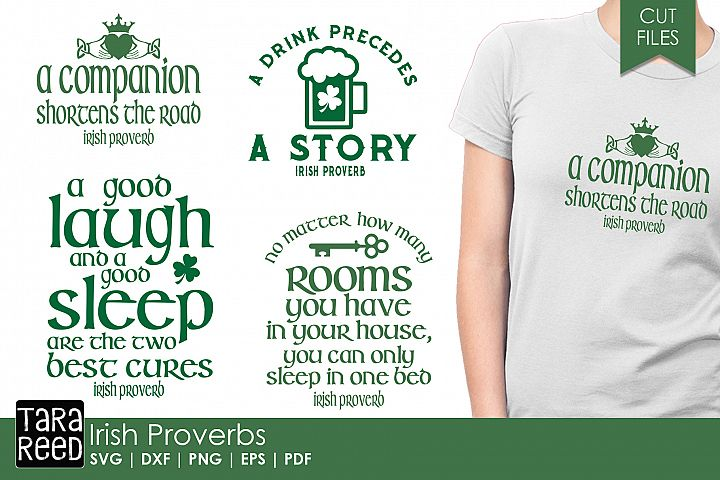 Irish Proverbs - SVG and Cut Files for Crafters