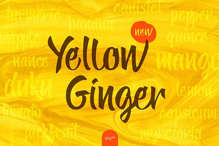 Yellow Ginger