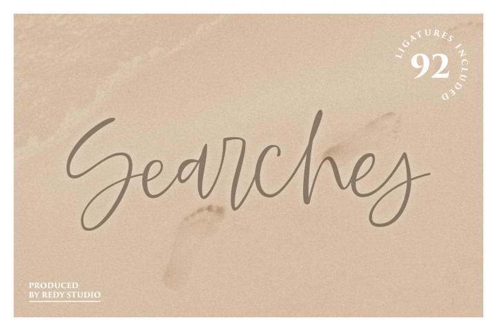 Searches | Handwritten Font
