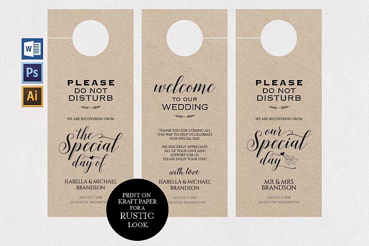 wedding door hanger TOS_22