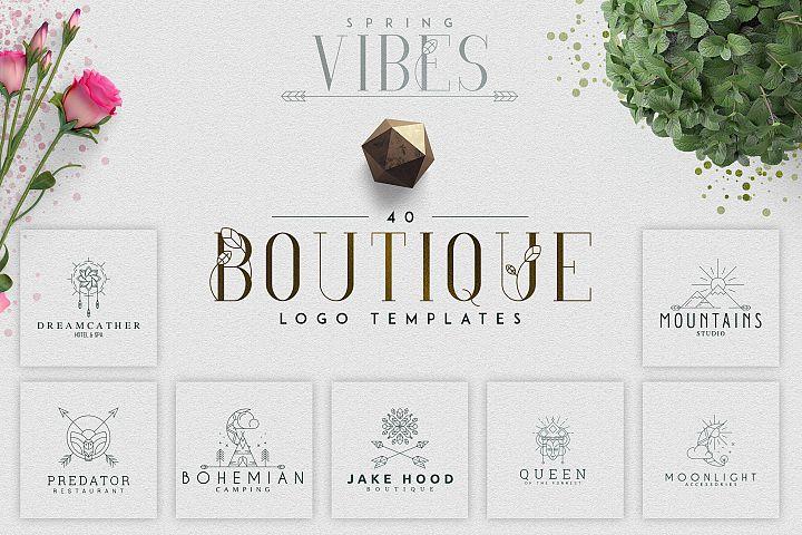 [Spring Vibes] 40 Boutique Logos