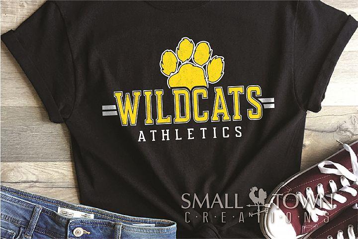 Wildcat Athletics, Sport, Team, Logo, PRINT, CUT, DESIGN