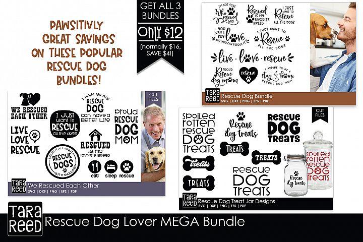 Rescue Dog MEGA Bundle - Rescue Dog SVG Files for Crafters