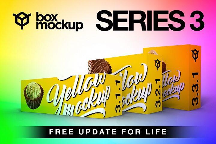 BoxMockup Series 3 Bundle