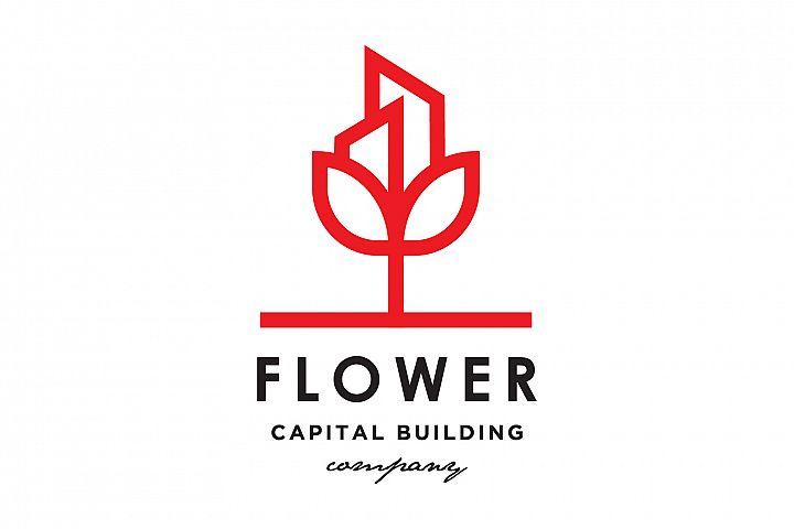 Flower Real Estate Logo