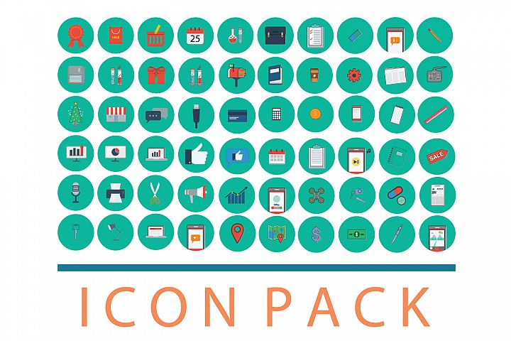 Media icon pack 60
