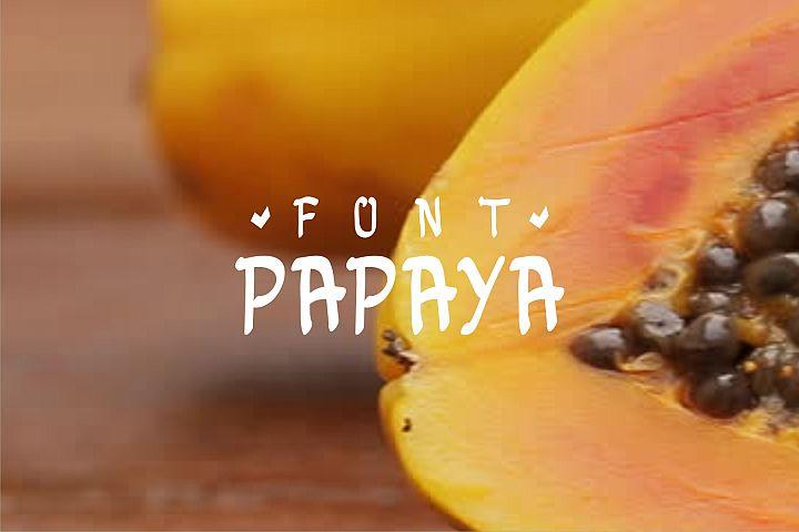papayafont