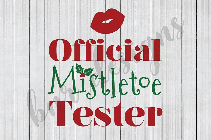 Christmas SVG, SVG for Kids, Mistletoe SVG, SVG Files