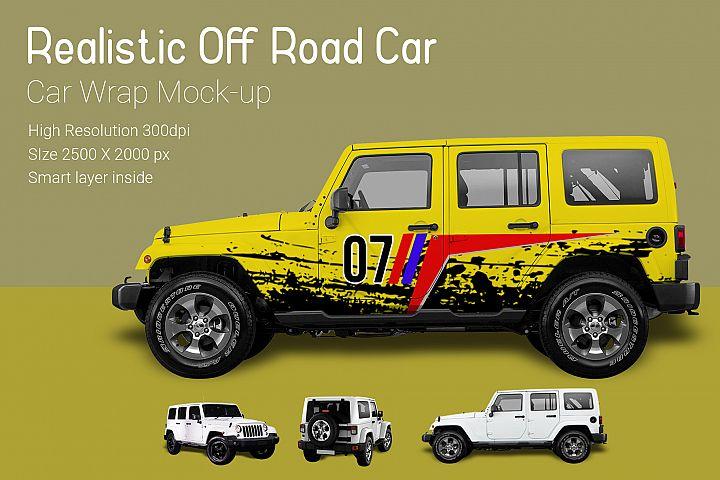 Off Road Car Mock-Up