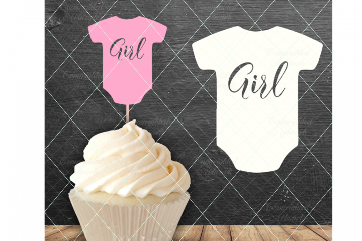 Baby girl svg, baby girl cake topper, pregnancy announcement