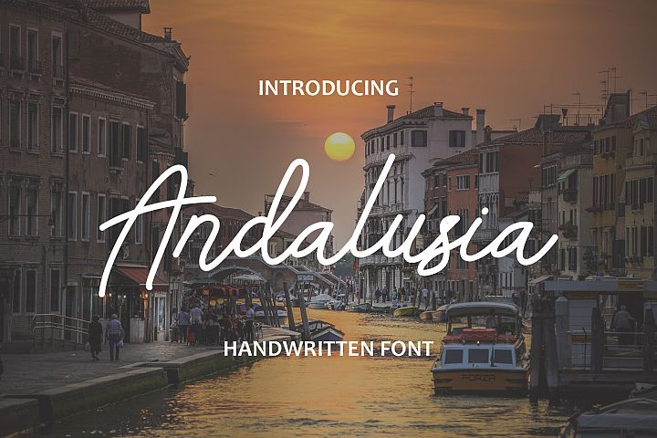 Andalusia -  Handwritten Font