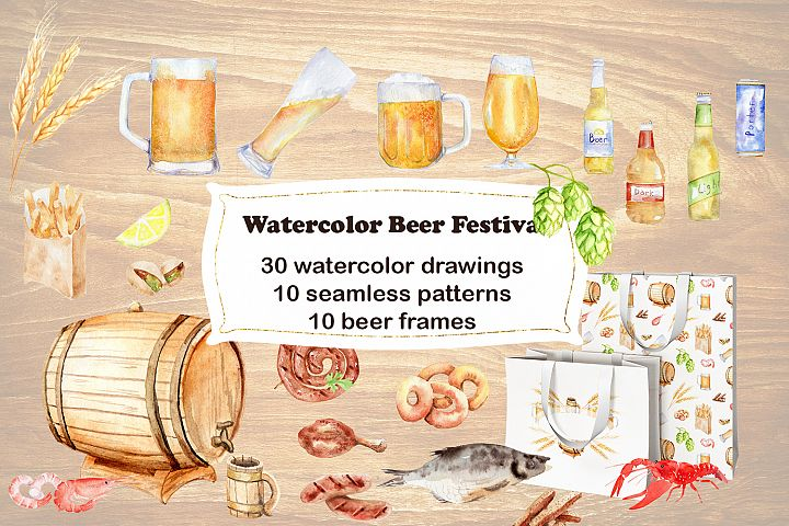 Watercolor Beer Festival