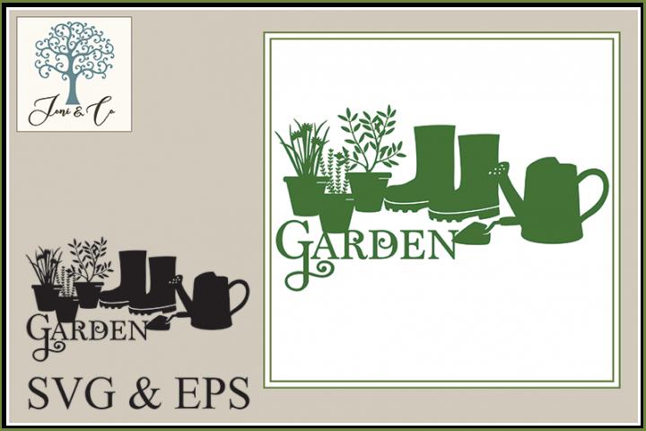 Illustrated Word - Garden