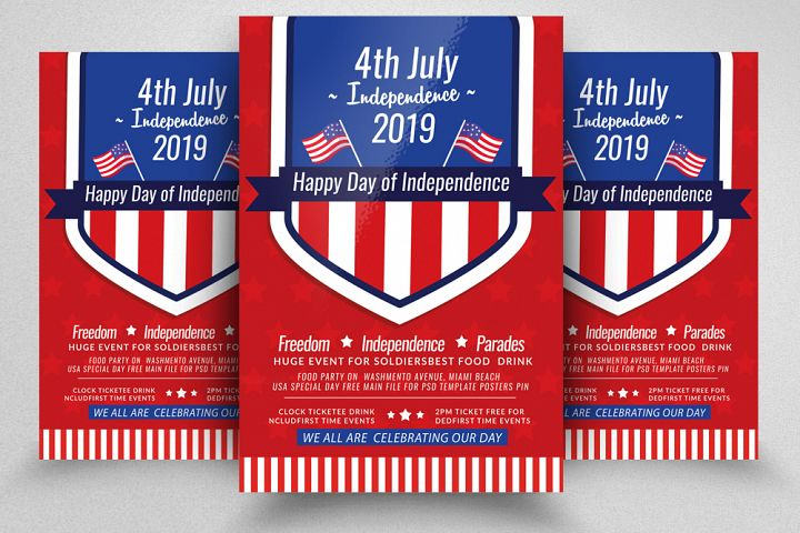 Independence Day Celebration Flyer