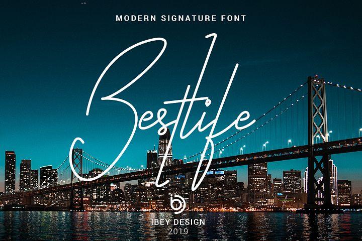 Bestlife - Monoline Font