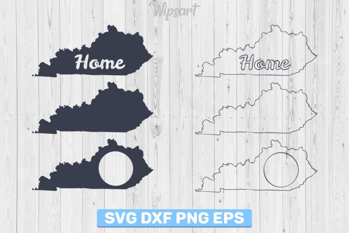 SALE! Kentucky silhouette, kentucky svg file, kentucky png