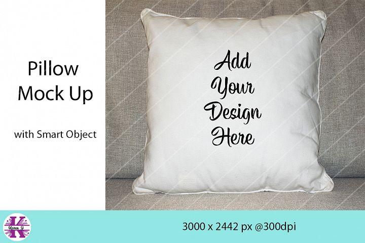 Pillow Mock Up - Photoshop
