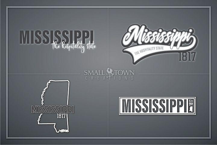 Mississippi, Hospitality state - slogan, PRINT, CUT & DESIGN