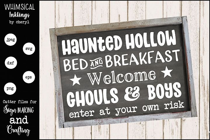 Haunted Hollow-Halloween SVG
