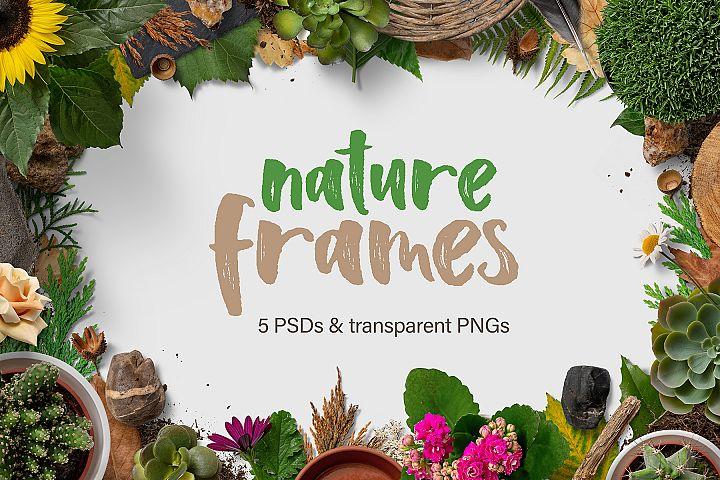 5 Nature Frames