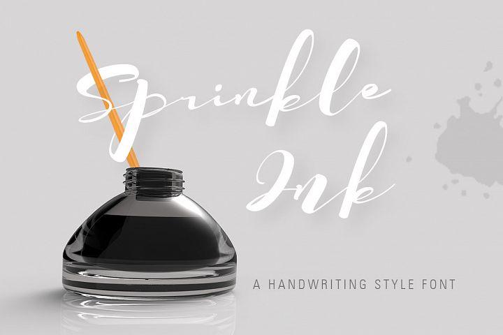 SprinkleInk font
