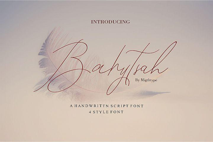 A NEW Bahytsah