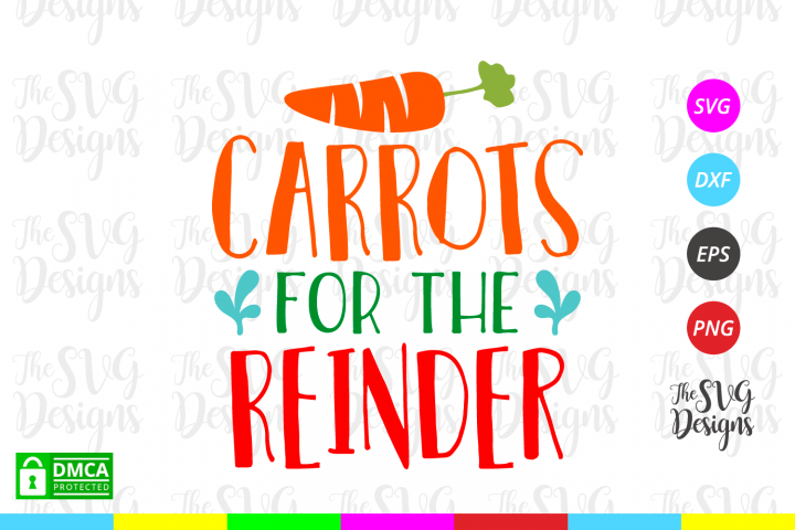 Carrots for the Reindeer Svg - Christmas - Svg Files