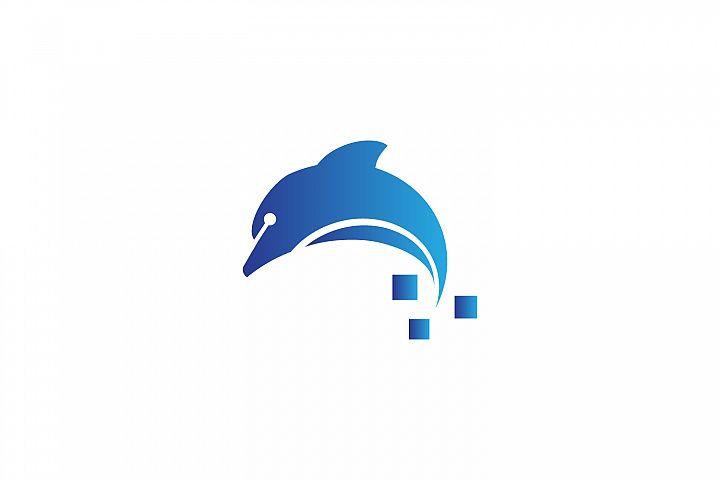 Tech Dolphin Logo