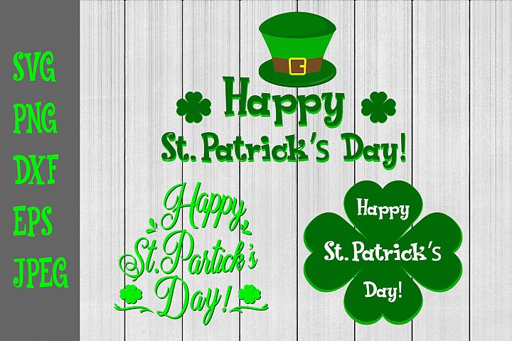 Happy St.Patricks Day Svg,Lucky Bundle