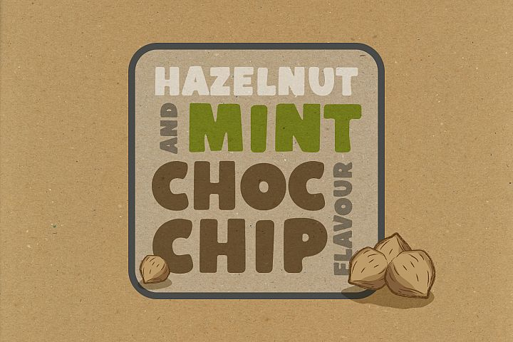 Cobnut - a nutty, bold and fun font example image 5