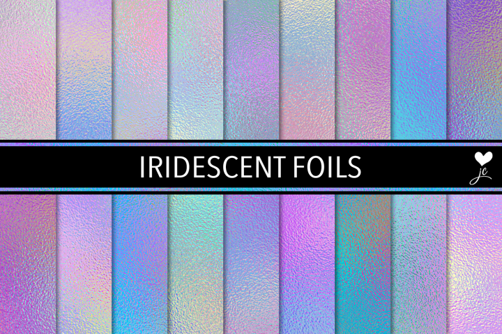 Iridescent Foils