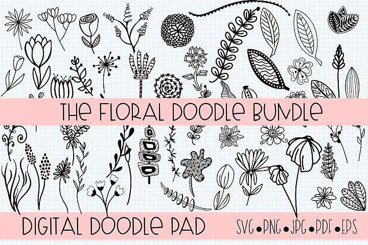 Floral Doodle Bundle