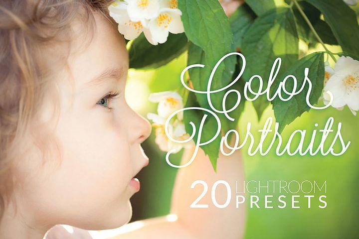 Color Portraits Lightroom Presets