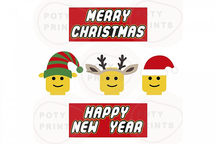 Lego christmas svg bundle