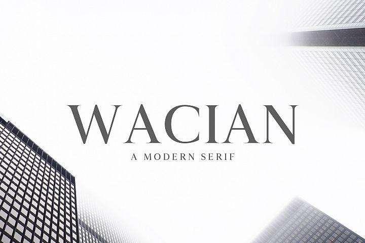 Wacian Serif Font Family Pack