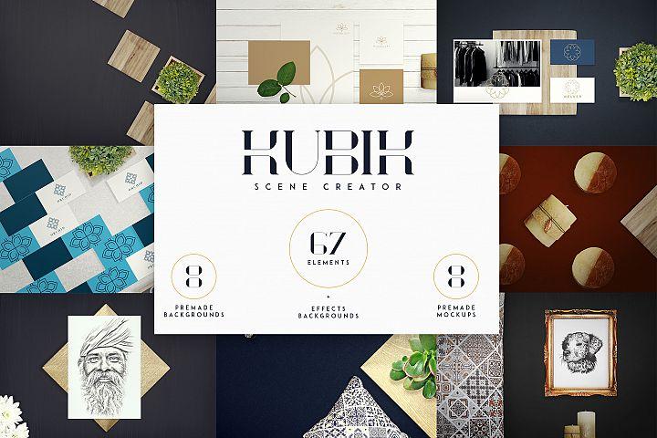Kubik Scene Creator - 67 elements