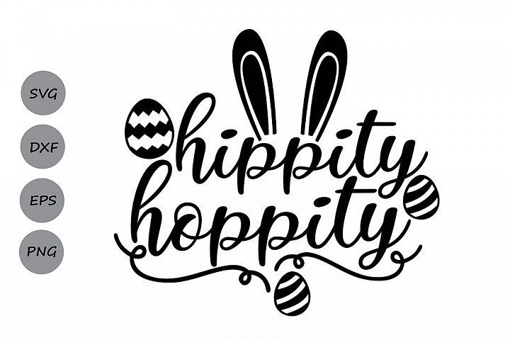 Hippity Hoppity svg, Easter svg, Easter Bunny svg.