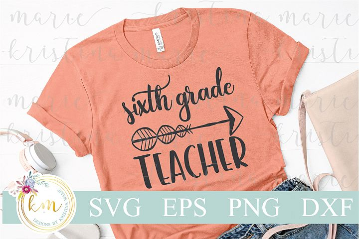 Sixth Grade Teacher Cut File Set
