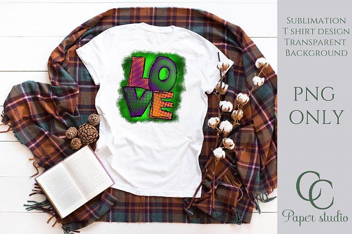 Love sublimation tshirt/mug design - halloween edition