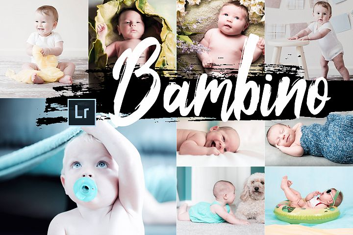 Neo bambino Theme Desktop Lightroom Presets