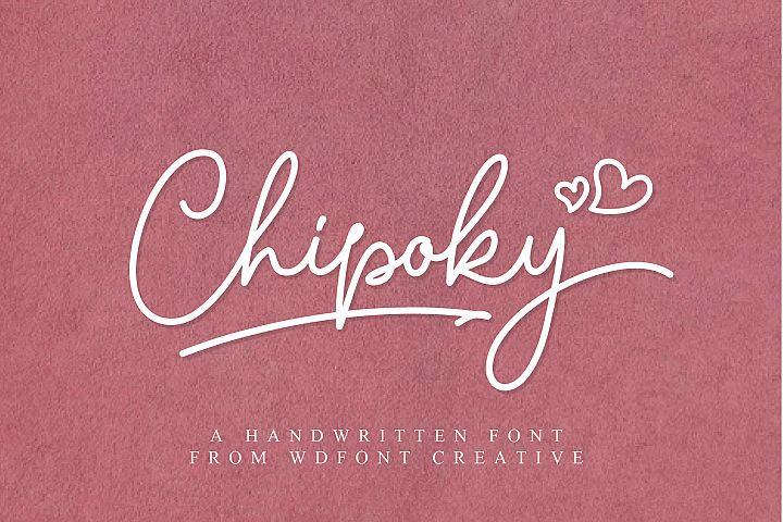 Chipoky | A Handwritten Font