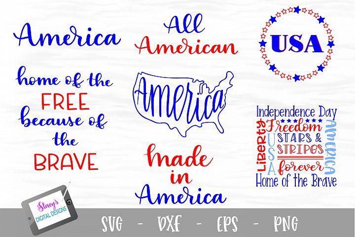 Patriotic SVG Bundle - 4th of July Bundle