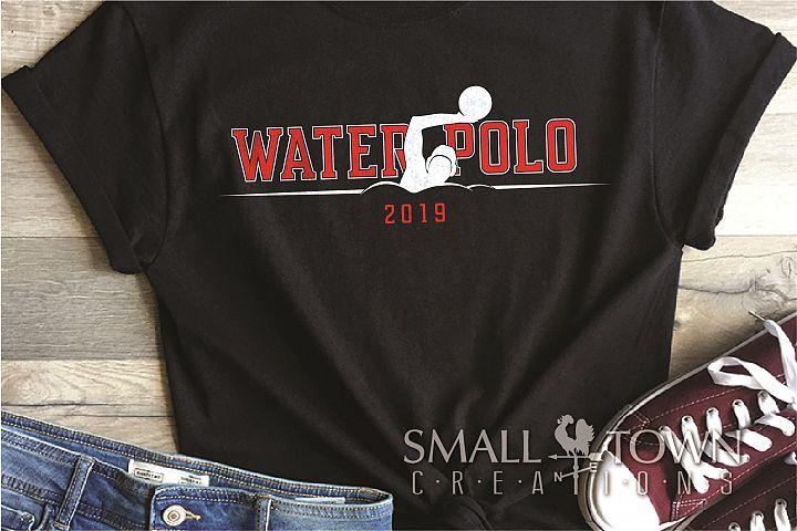 Water Polo, Water Sport, Team, logo, PRINT, CUT & DESIGN