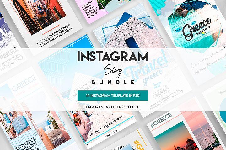 Social Media instagram travel template