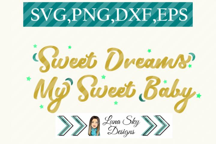sweet dreams, nursery, new baby