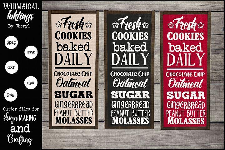 Fresh Cookies SVG