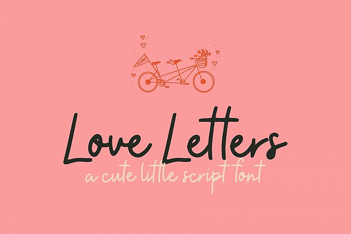 Lover Letters | Cute Script Font