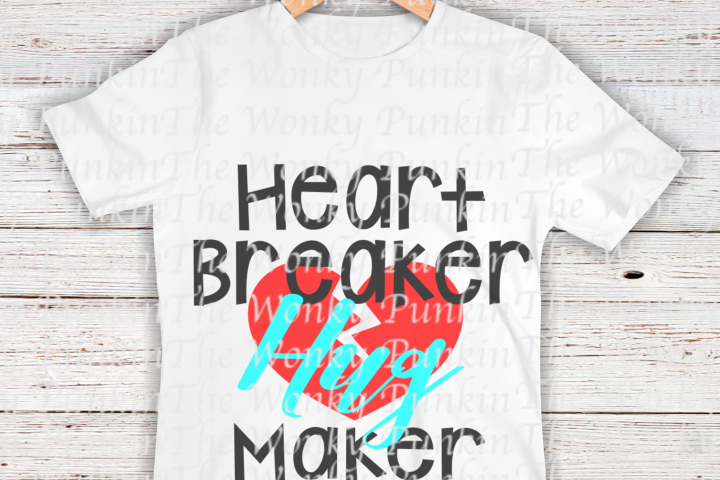 Heart Breaker Hug Maker SVG